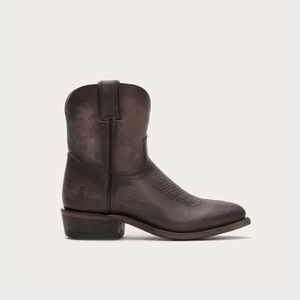 FRYE Billy Short Brown Leather Boots